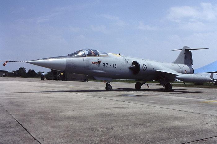 MM6925  37-15 (RS-25)  F-104S-ASA-M  1225 @ Aeroporto di Verona   © Piti Spotter Club Verona