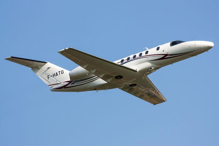 F-HATG Ce525C (CJ4) 525C-0115 Flying Faster SNC @ Venice Airport 02.07.2013 © Piti Spotter Club Verona
