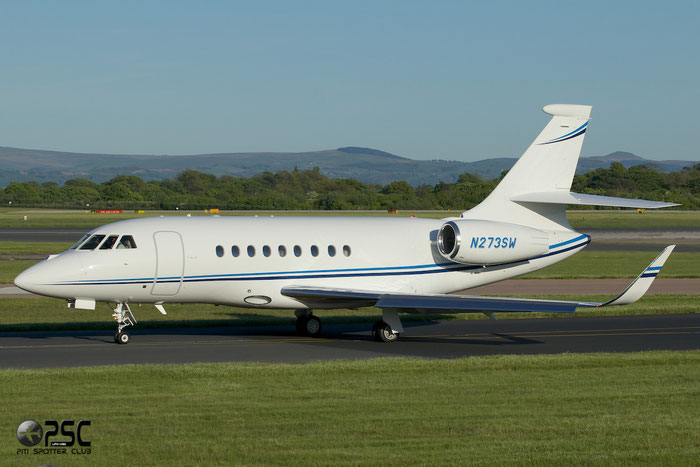 N273SW Falcon 2000EX-EASy 073 The Sherwin Williams Co. @ Manchester Airport 13.05.2014 © Piti Spotter Club Verona