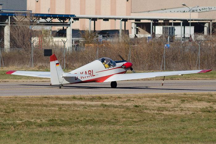 D-KARL - Fournier RF4D - Private @ Aeroporto di Bolzano © Piti Spotter Club Verona