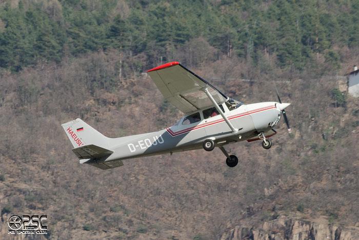 D-EOJU Reims Aviation F172N Skyhawk C172 1635 Haeusl'Air @ Aeroporto di Bolzano © Piti Spotter Club Verona