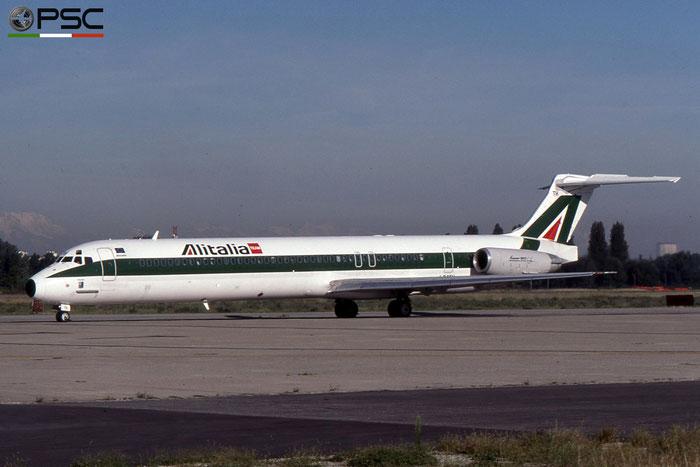 I-DATH MD-82 53226/2087 Alitalia © 2018 courtesy of Marco Ceschi - Piti Spotter Club Verona