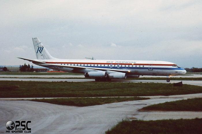 N1808E  DC-8-62  46105/494  Rich International Airways  @ Aeroporto di Verona - © Piti Spotter Club Verona