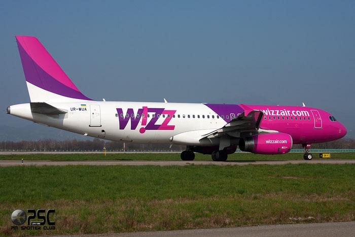 UR-WUA A320-232 3531 Wizz Air Ukraine @ Bergamo Airport 08.03.2014 © Piti Spotter Club Verona