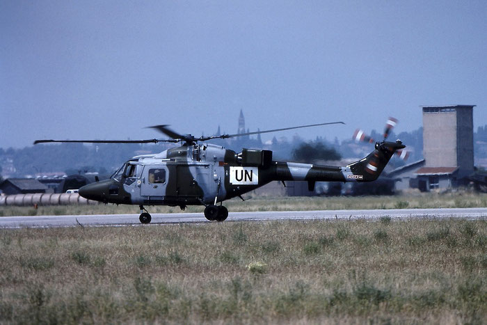 ZG919   Lynx AH9A  358 RAF (ONU) @ Aeroporto di Verona   © Piti Spotter Club Verona