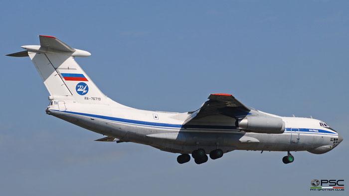 RA-76719 0073474226  Il-76MD  RA-76719  Russian Air Force © Piti Spotter Club Verona