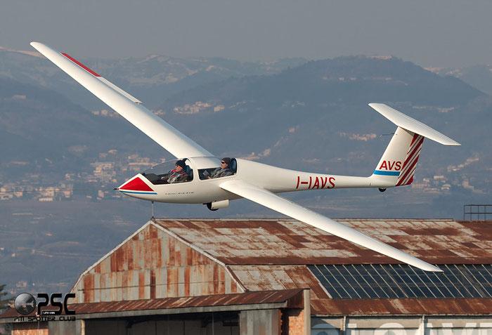 I-IAVS - Grob G103 Twin Astir @ Aeroporto Verona Boscomantico © Piti Spotter Club Verona