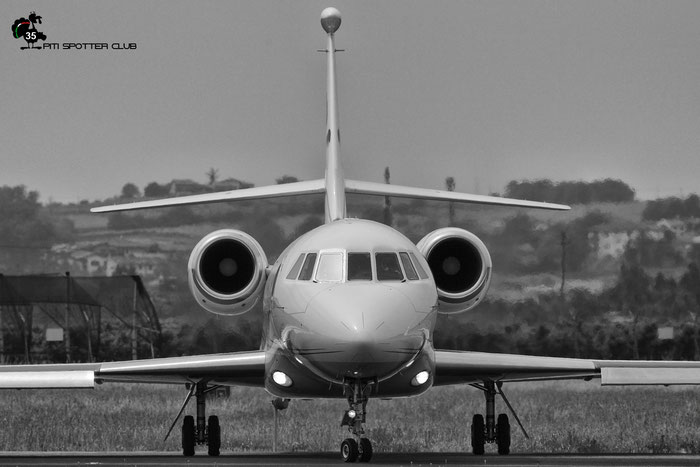 HB-IGU Falcon 2000LX 111 CAT Aviation AG @ Aeroporto di Verona 20.05.2017  © Piti Spotter Club Verona