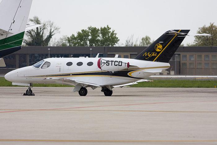 I-STCD Ce510 510-0361 STC Aviation Spa @ Treviso Airport 09.04.2012 © Piti Spotter Club Verona