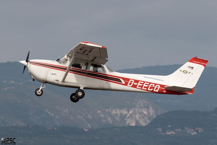 D-EECQ Reims Aviation F172M Skyhawk C172 F17201280 @ Aeroporto Verona Boscomantico © Piti Spotter Club Verona