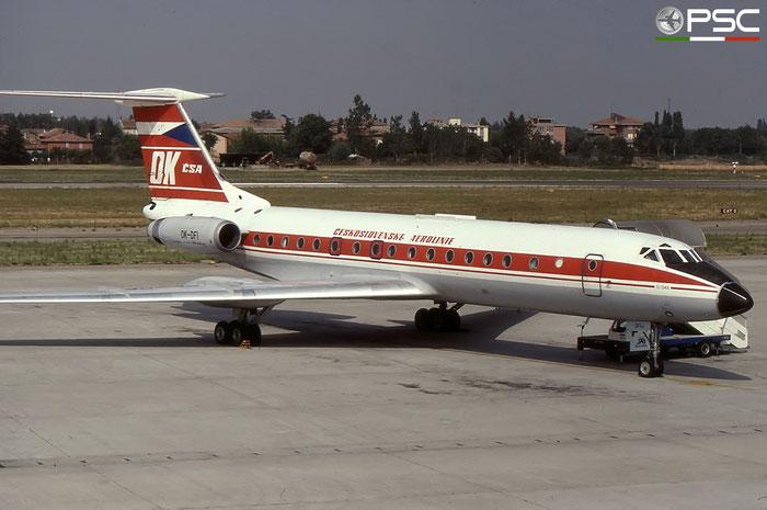 OK-DFI 3351908 Tu-134A OK-DFI CSA © 2018 courtesy of Marco Ceschi - Piti Spotter Club Verona
