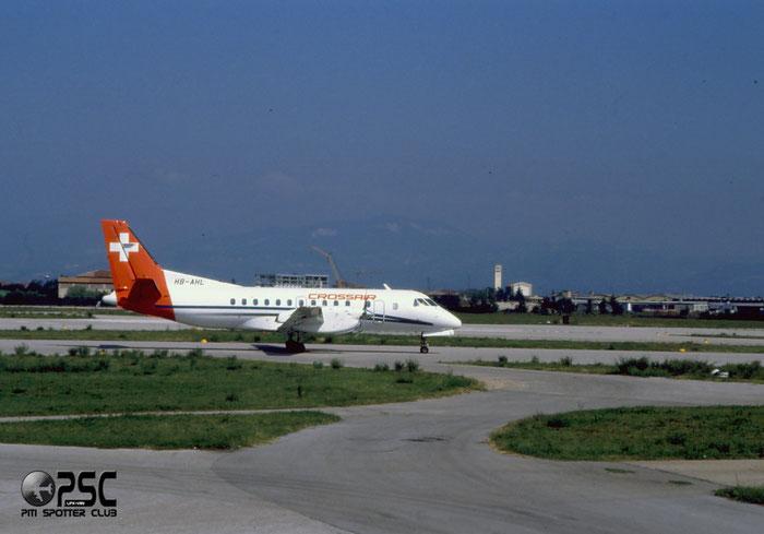 HB-AHL  Saab 340A/QC  340A-082  Crossair  @ Aeroporto di Verona © Piti Spotter Club Verona