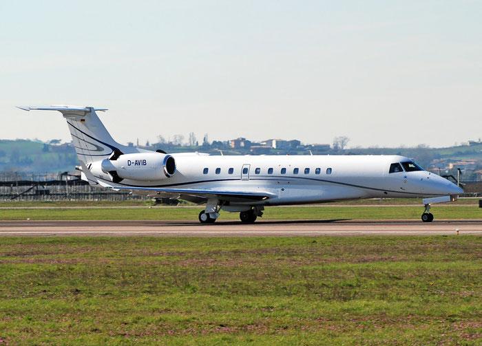 D-AVIB ERJ135BJ 14501109 Air Hamburg Private Jets @ Aeroporto di Verona 16.03.2018  © Piti Spotter Club Verona