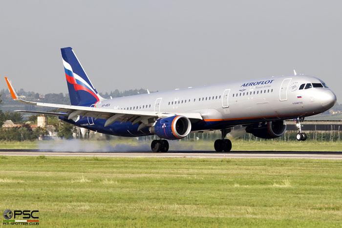 VP-BEA A321-211 6678 Aeroflot @ Aeroporto di Verona 08.2019  © Piti Spotter Club Verona