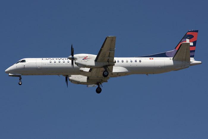 HB-IZJ Saab 2000 2000-015 Darwin Airline @ Rimini Airport 18.07.2012 © Piti Spotter Club Verona