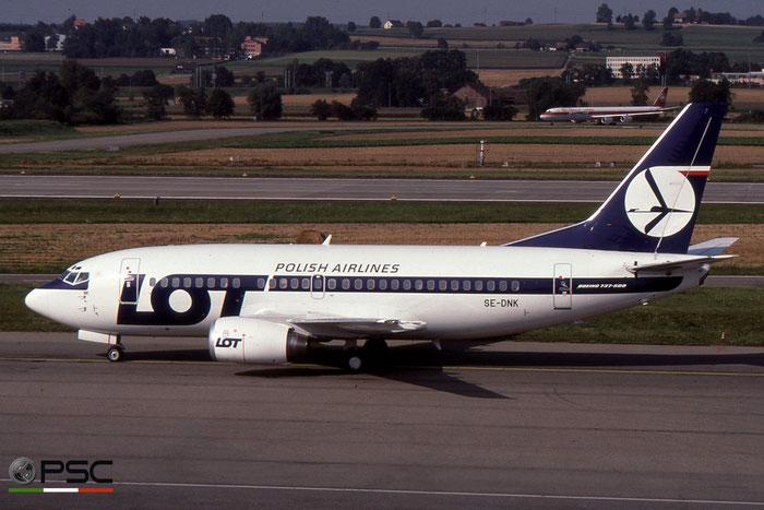 SE-DNK B737-59D 26421/2279 LOT Polish Airlines - Polskie Linie Lotnicze © 2018 courtesy of Marco Ceschi - Piti Spotter Club Verona