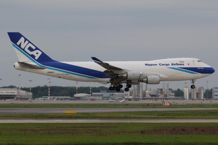 JA08KZ B747-4KZF 36135/1408 NCA - Nippon Cargo Airlines @ Milano Malpensa Airport 31.08.2014 © Piti Spotter Club Verona