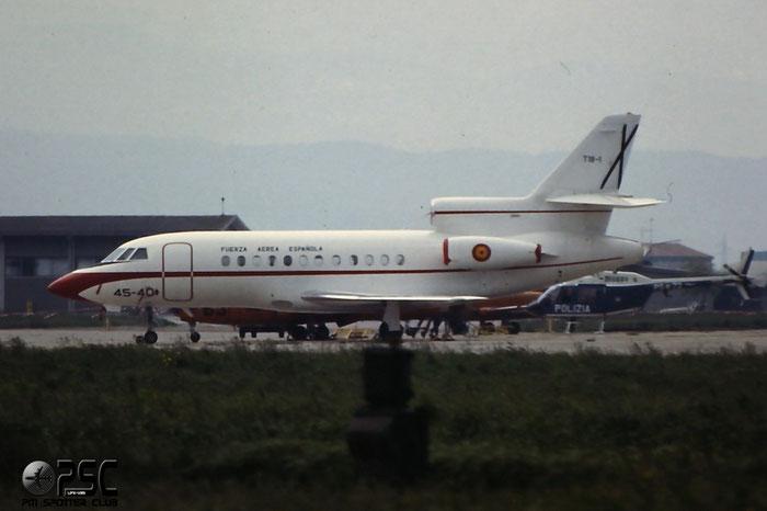 T.18-1  45-40  Falcon 900B  38  451 Esc @ Aeroporto di Verona   © Piti Spotter Club Verona