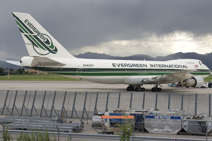 N482EV B747-212BF 20713/219 Evergreen International Airlines @ Milano Malpensa Airport 07.2009 © Piti Spotter Club Verona