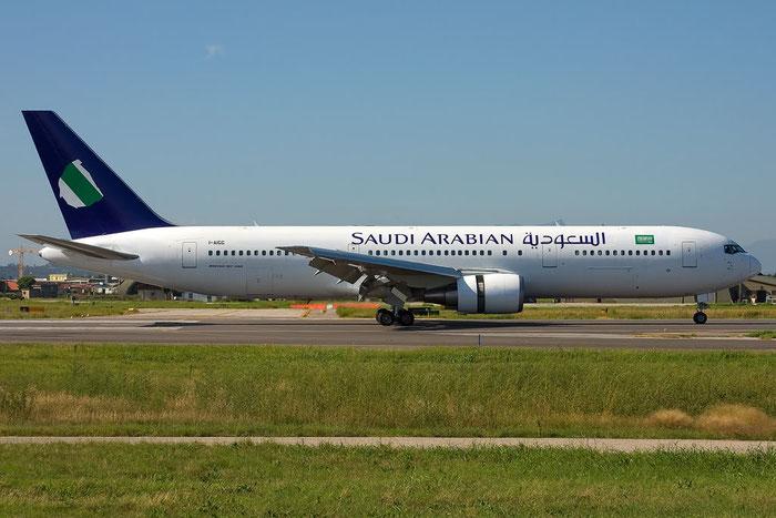 I-AIGG  B767-304ER  28041/614  Saudia - Saudi Arabian Airlines @ Aeroporto di Verona  © Piti Spotter Club Verona