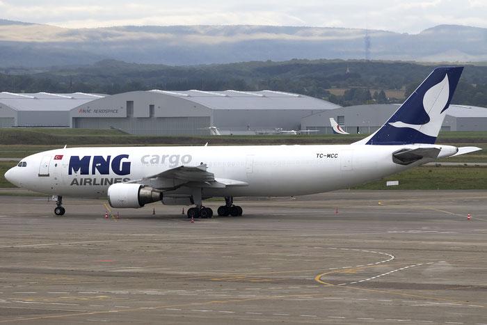 TC-MCC  A300B4-622RF  734  MNG Airlines @ Basel Airport 2015 © Piti Spotter Club Verona