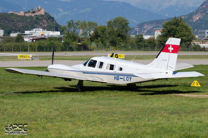 HB-LQY Piper PA-34-220T Seneca V PA34 @ Aeroporto di Bolzano © Piti Spotter Club Verona