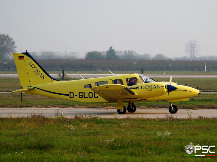 D-GLOC Piper PA 34T Seneca II @ Aeroporto di Verona 09.11.2008  © Piti Spotter Club Verona