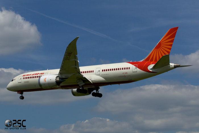 VT-ANL B787-8 36283/65 Air India @ London Heathrow Airport 12.06.2014 © Piti Spotter Club Verona