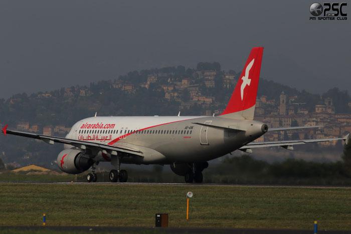 A6-ANK A320-214 5206 Air Arabia @ Bergamo Airport 05.10.2014 © Piti Spotter Club Verona