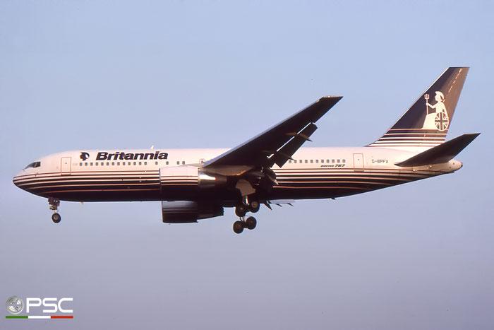 G-BPFV B767-204ER 24457/256 Britannia Airways © 2018 courtesy of Marco Ceschi - Piti Spotter Club Verona