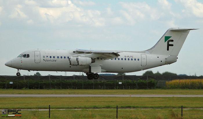 G-FLTC BAe146-300 E3205 Flightline (UK) @ Aeroporto di Verona   © Piti Spotter Club Verona