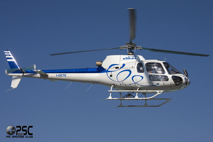 I-OETE  Aerospatiale AS350B > AS350BA Ecureuil ( c/n 1103 ) - mfg: 1979  © Piti Spotter Club Verona