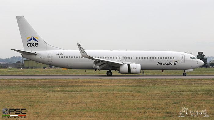 OM-IEX B737-8BK 33016/1588 AirExplore @ Aeroporto di Verona 14.08.2018  © Piti Spotter Club Verona