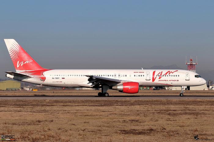RA-73017 B757-230 26434/532 VIM Airlines @ Aeroporto di Verona - 21.01.2017  © Piti Spotter Club Verona