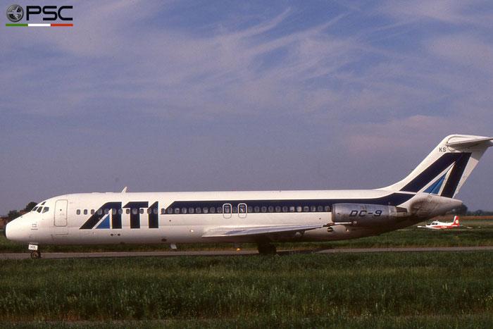 I-RIKS DC-9-32 47229/356 ATI - Aero Transporti Italiani © 2018 courtesy of Marco Ceschi - Piti Spotter Club Verona