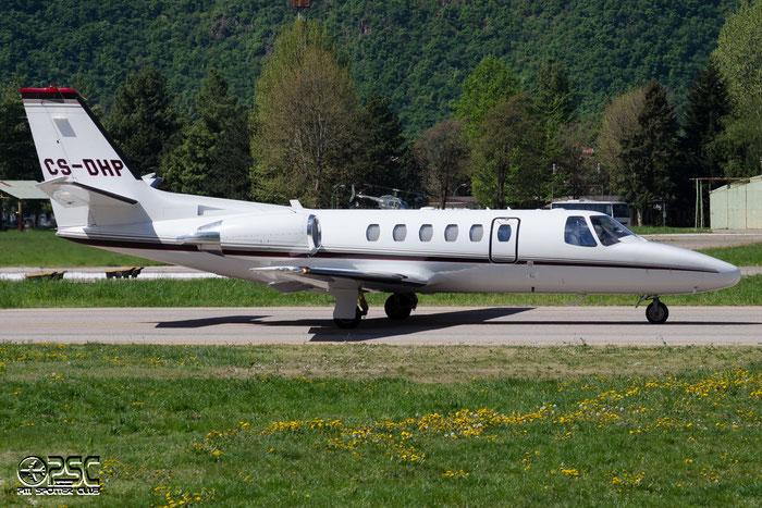 CS-DHP Ce550 Bravo 550-1104 NetJets Europe @ Aeroporto di Bolzano © Piti Spotter Club Verona