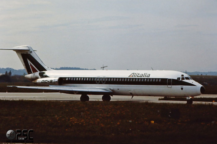 I-DIKR  DC-9-32  47228/355  Alitalia @ Aeroporto di Verona © Piti Spotter Club Verona