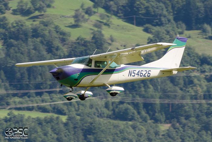 N54626 Cessna 182N C182 18260199 Rueckert Martin W, Wolfsheim @ Aeroporto di Bolzano © Piti Spotter Club Verona