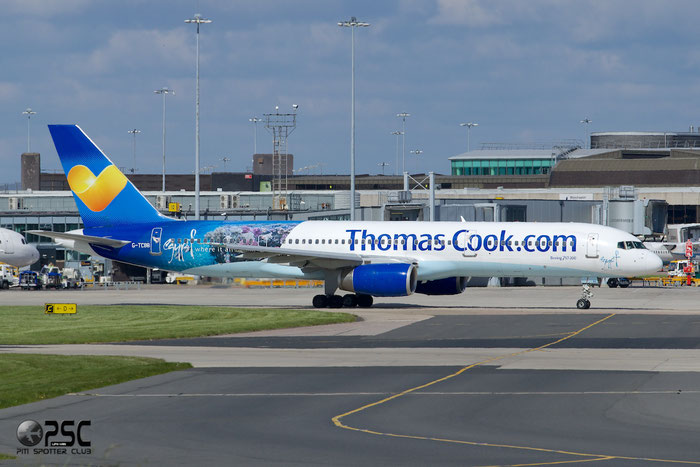 G-TCBB B757-236 29945/873 Thomas Cook Airlines @ Manchester Airport13.05.2014 © Piti Spotter Club Verona