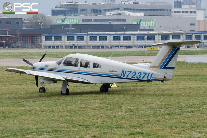 N7237U (1982 Piper PA-28RT-201T Arrow IV C/N 28R-8231062) @ Aeroporto di Bolzano © Piti Spotter Club Verona