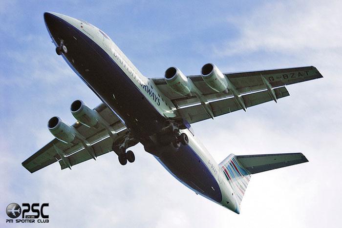 G-BZAT BAe146-RJ100 E3320 British Airways @ Aeroporto di Verona © Piti Spotter Club Verona