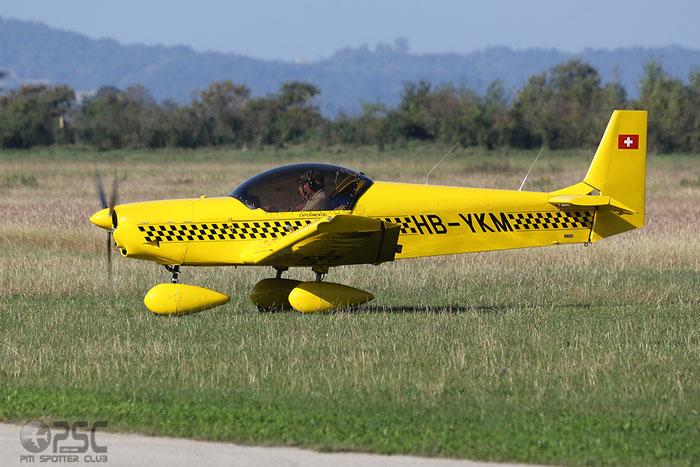 HB-YKM Zenair CH-601XL Zodiac CH60 @ Aeroporto Verona Boscomantico © Piti Spotter Club Verona