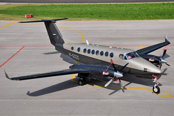 M-GCCC Beech 350i FL-755 CCC S.A. @ Aeroporto di Trento © Piti Spotter Club Verona
