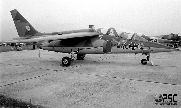 40+12   Alpha Jet A  0012 © Piti Spotter Club Verona