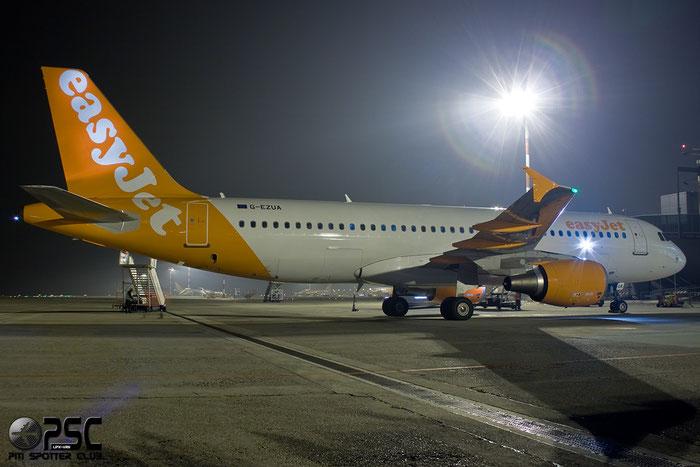 G-EZUA A320-214 4588 EasyJet Airline @ Milano Malpensa Airport 13.12.2014  © Piti Spotter Club Verona