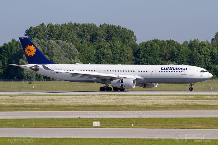 D-AIKK A330-343E 896 Lufthansa @ Munich 05.2018 © Piti Spotter Club Verona