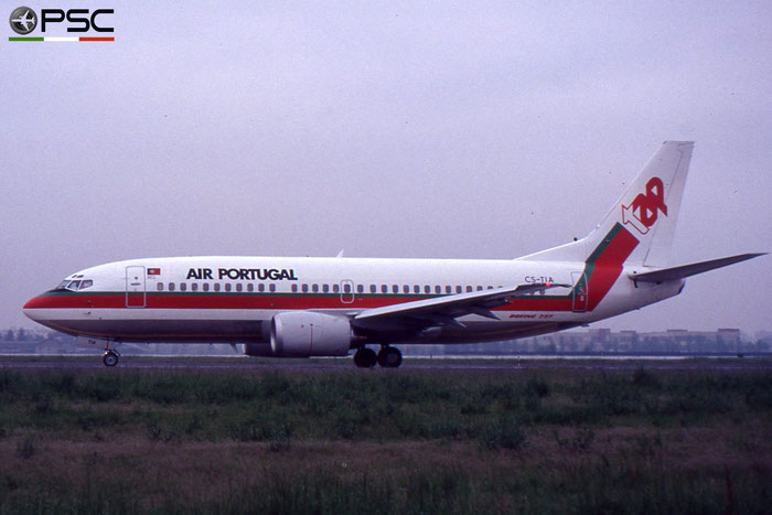 CS-TIA B737-382 24364/1657 TAP Air Portugal - Transportes Aéreos Portugueses © 2018 courtesy of Marco Ceschi - Piti Spotter Club Verona