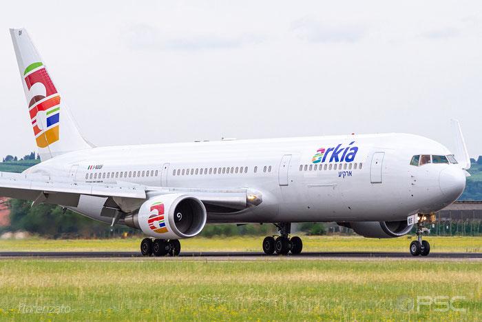 I-NDOF B767-306ER 27610/605 Arkia Israeli Airlines @ Aeroporto di Verona 06.2019  © Piti Spotter Club Verona