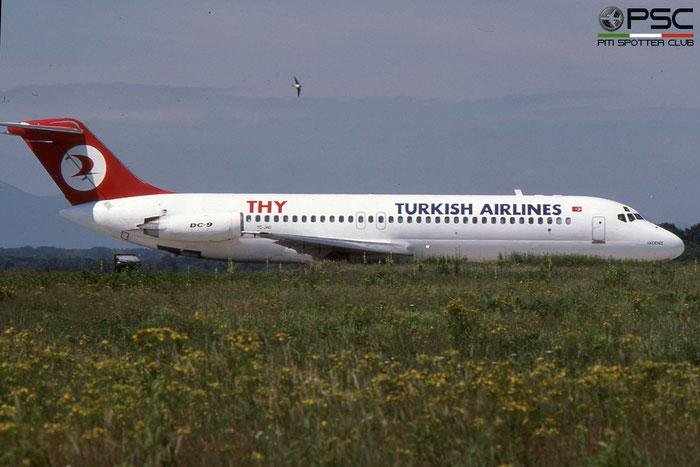 TC-JAG DC-9-32 47442/524 Turkish Airlines - THY Türk Hava Yollari © 2018 courtesy of Marco Ceschi - Piti Spotter Club Verona