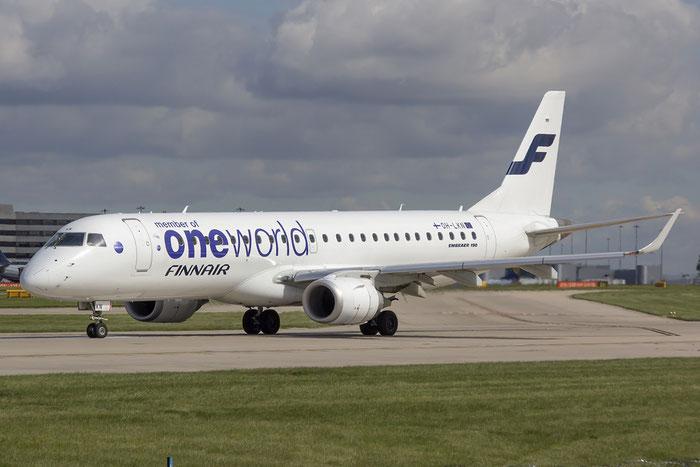 OH-LKN ERJ190LR 19000252 Finnair @ Manchester Airport 13.05.2014 © Piti Spotter Club Verona